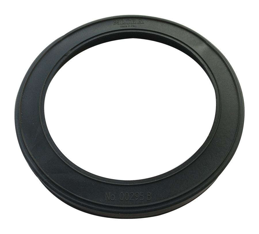 Large Seal / Washer for LIRA Waste Kit (No. 00295 B) - Black PVC