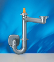 Spazio 1 Space Saver Plumbing Kit for Single Bowl Sinks (New Design)