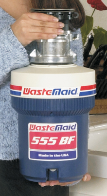 WasteMaid 555BF Batch Feed - Food Waste Disposer