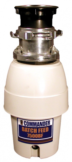 Commander Mid-Duty 7500BF Batch Feed Waste Disposer