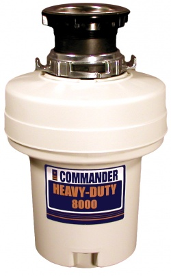 Commander Heavy-Duty 8000 Waste Disposer
