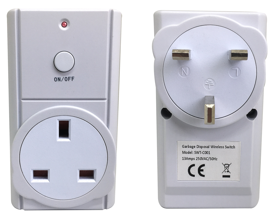 Wireless Control Switch for Waste Disposers