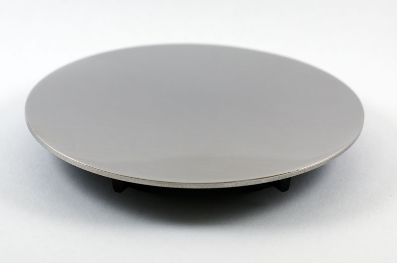 Kitchen Sink Drain Cover / Topper - ø115mm (Polished)